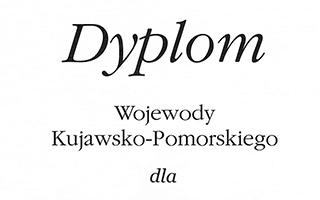Dyplom Wojewody Kujawsko-Pomorskiego