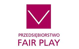 """Certyfikat """"Przedsiębiorstwo Fair Play 2020"""""""